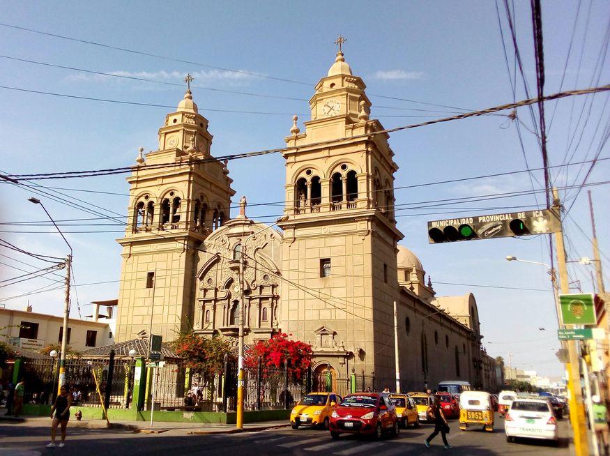 Церковь в Ика Перу фото