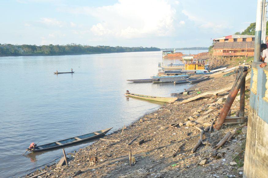 Портовая зона в Икитосе. Амазонка