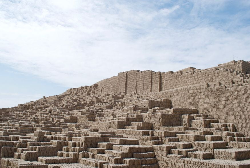 Руины в Лиме Перу