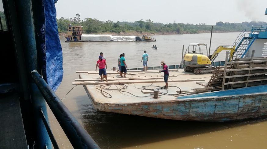 Карго-транспорт Амазонки