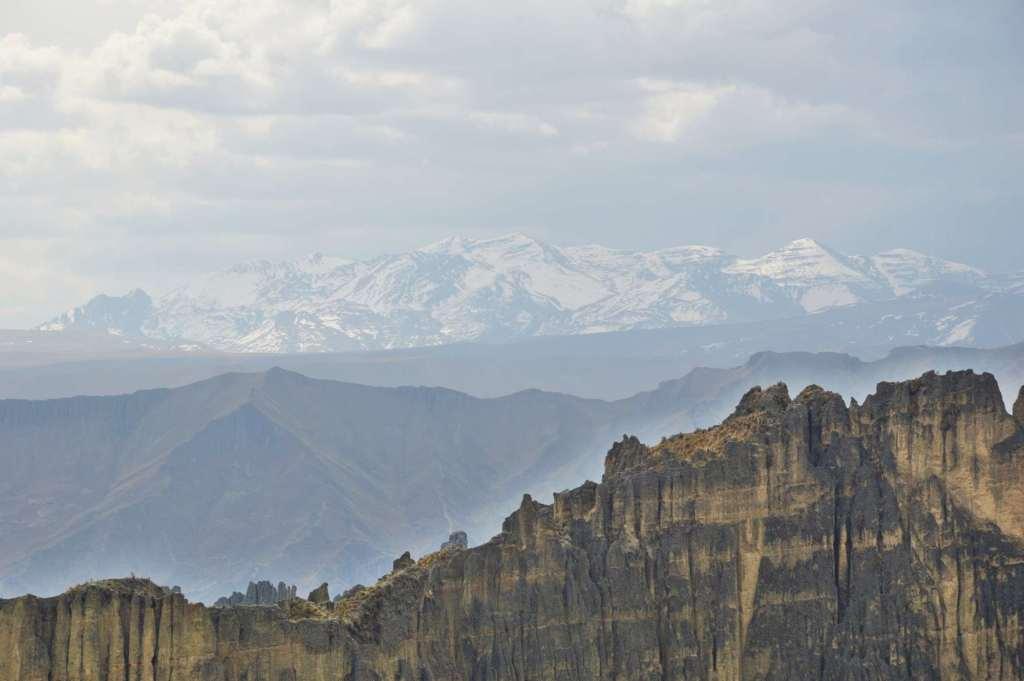 горные вершины Анд