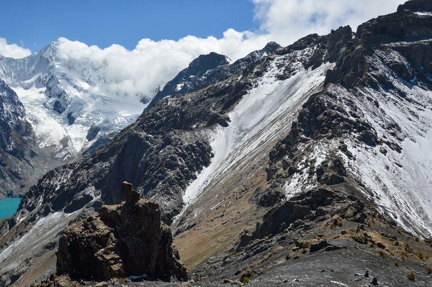 Перевал Сан Антонио Уараз Перу