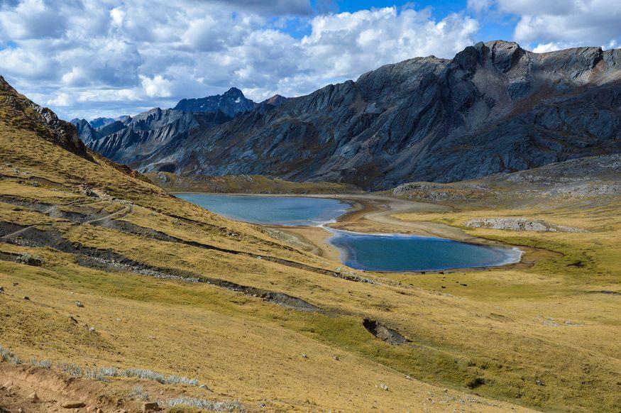 Перевал Tapush и озера
