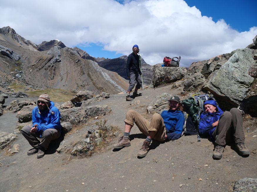 Перевал Yaucha (4800м)