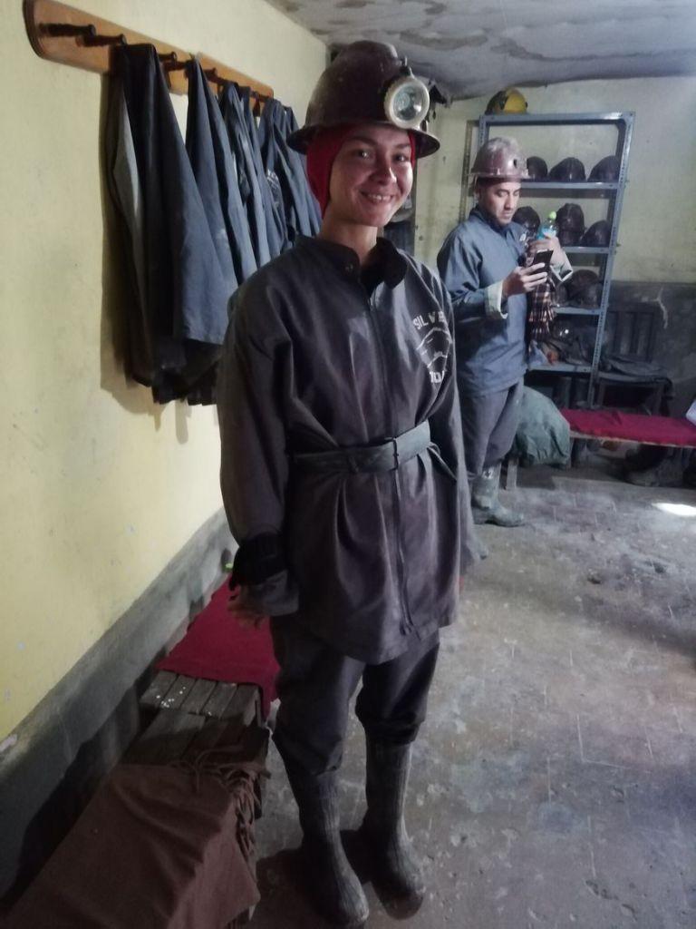 Экипировка шахтера в Боливии