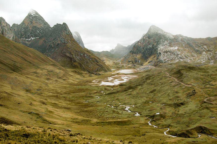 Перевал Qaqanan Huayhuash trek Peru