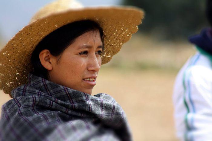 Боливианка портрет