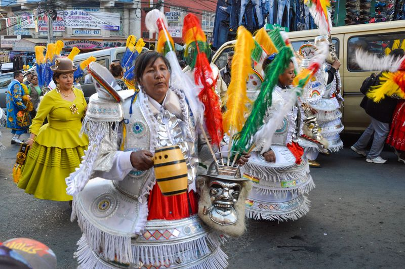 Костюмы карнавала в Боливии
