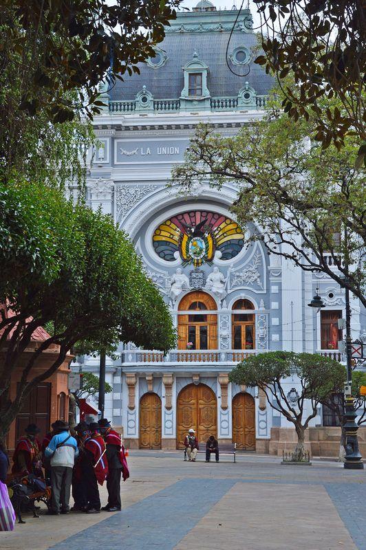 Сукре - колониальная архитектура