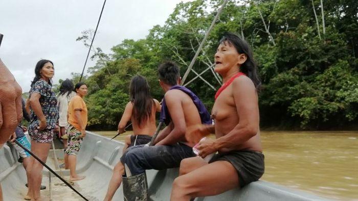 Охота с индейцами в джунглях