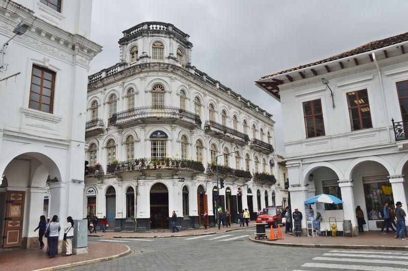 Здание испанских времен