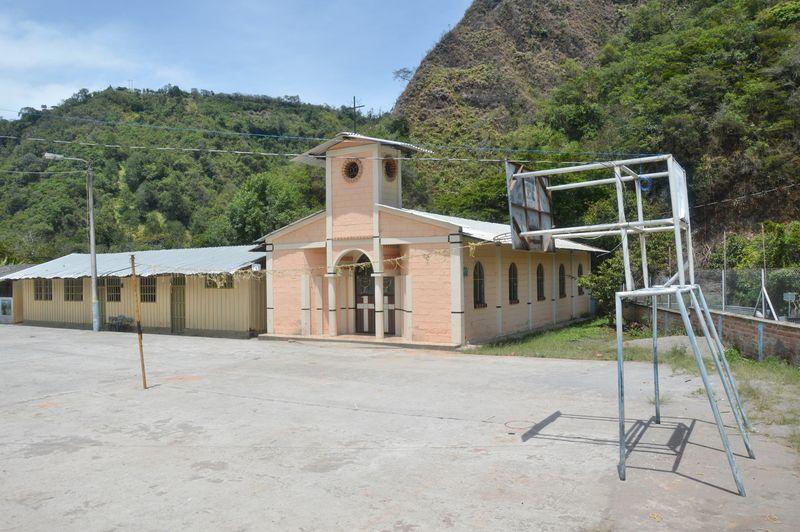 Спортивная площадка в деревне