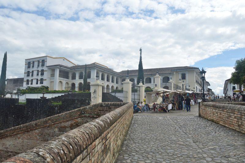 Вход в старый город Попаяна