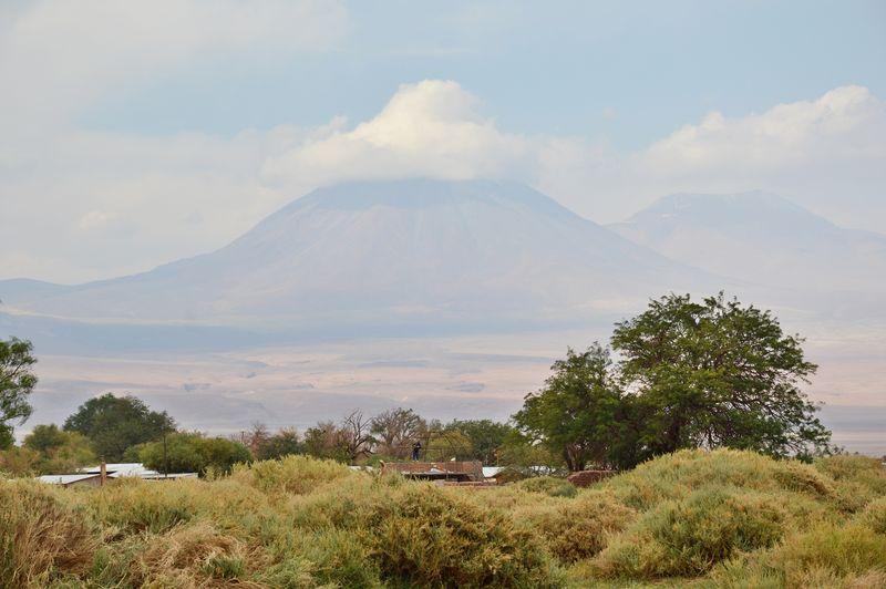 Вулкан в Атакаме