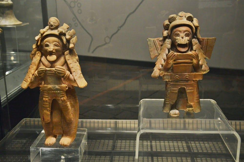 экспонат в музее эквадорской культуры в Кито