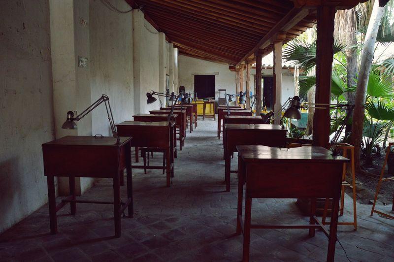 Учебная зона в мастерской