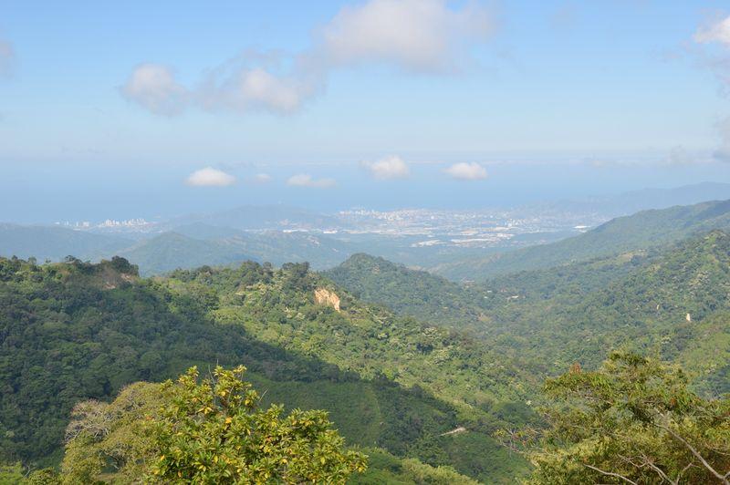 Пейзаж в горах Минка Колумбия