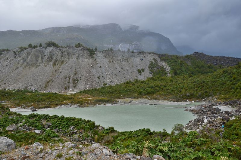 Озеро по пути на Ледник Эксплорадорес