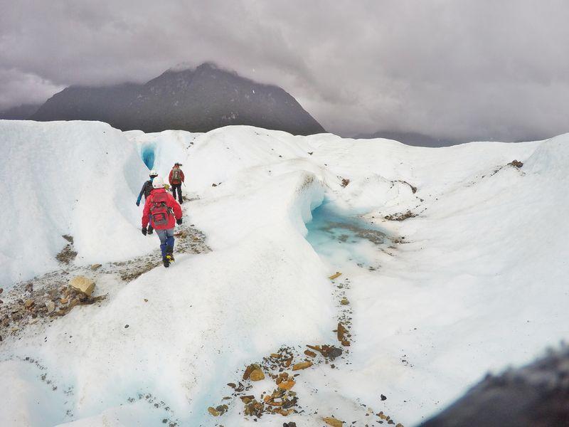 Исследование ледника