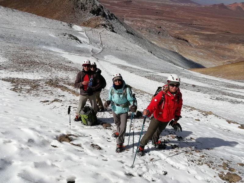 Cerro Toco climb