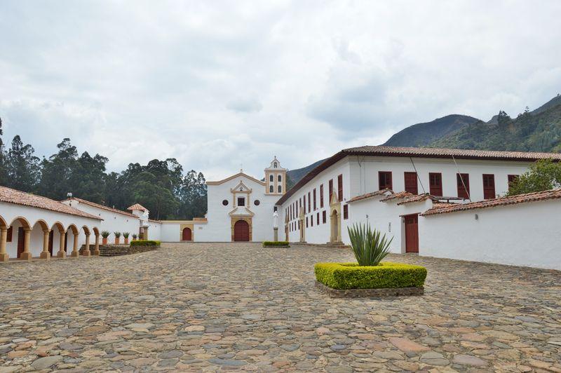 Монастырь Канделария Ракира Колумбия