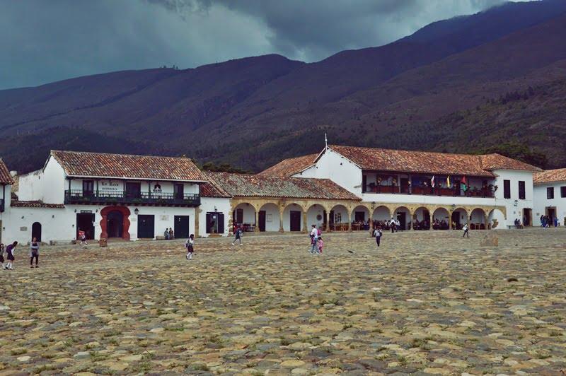 Главная площадь в Вилла де Лейва, Колумбия