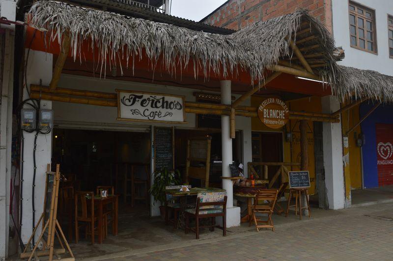 Кофейня в Пуэрто Лопес
