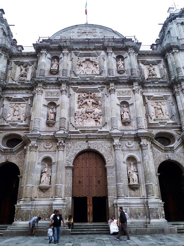 фасад церкви Оахака