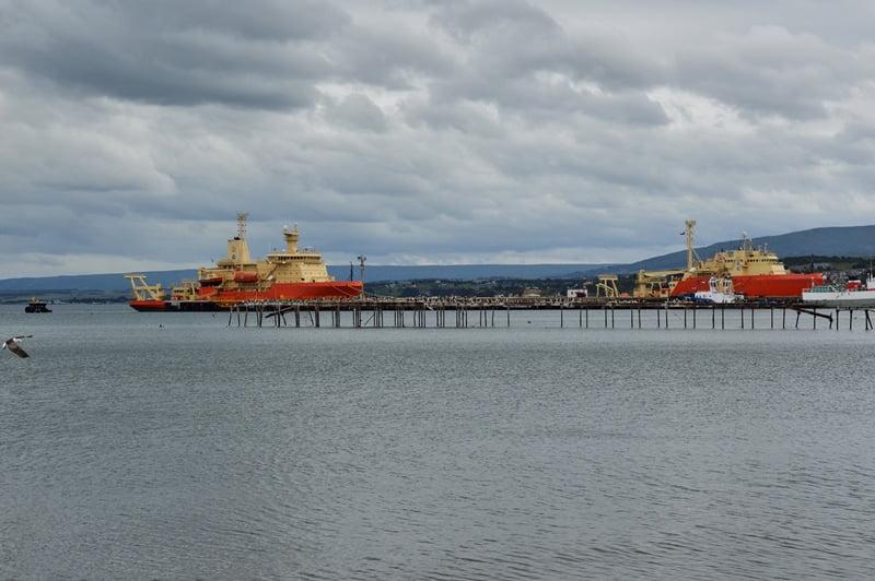 Порт в Чили