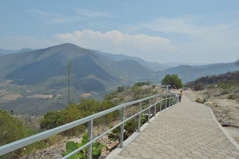 Горынй пейзаж в Мексике