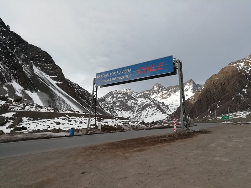 Граница Чили Южная Америка