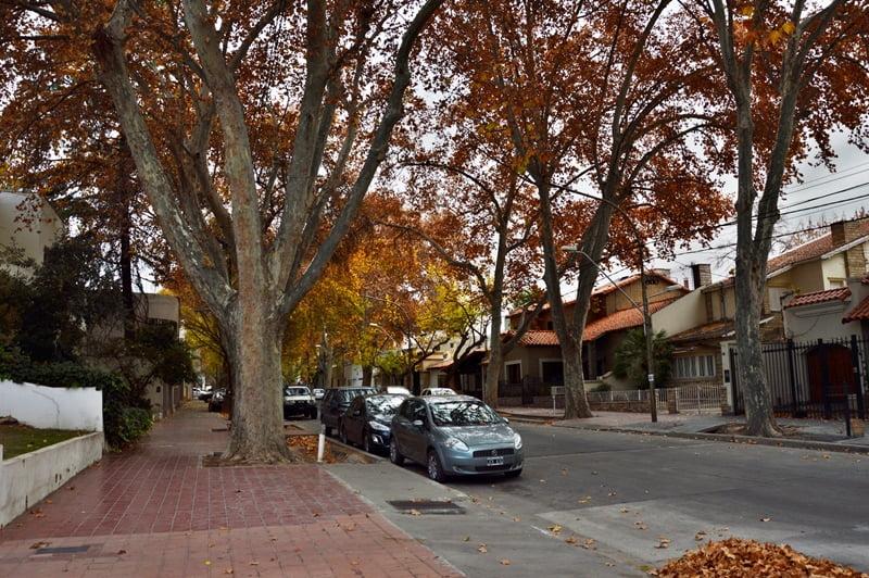 Жилой квартал в городе Аргентины