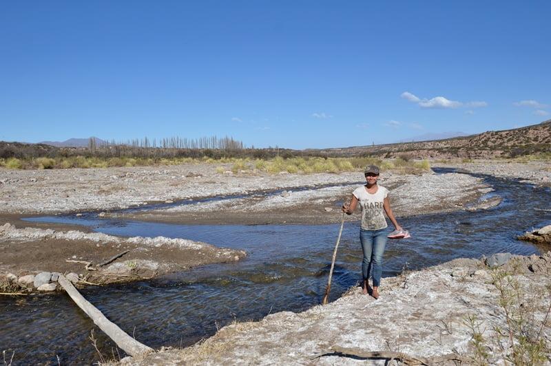 Река на севере Аргентины