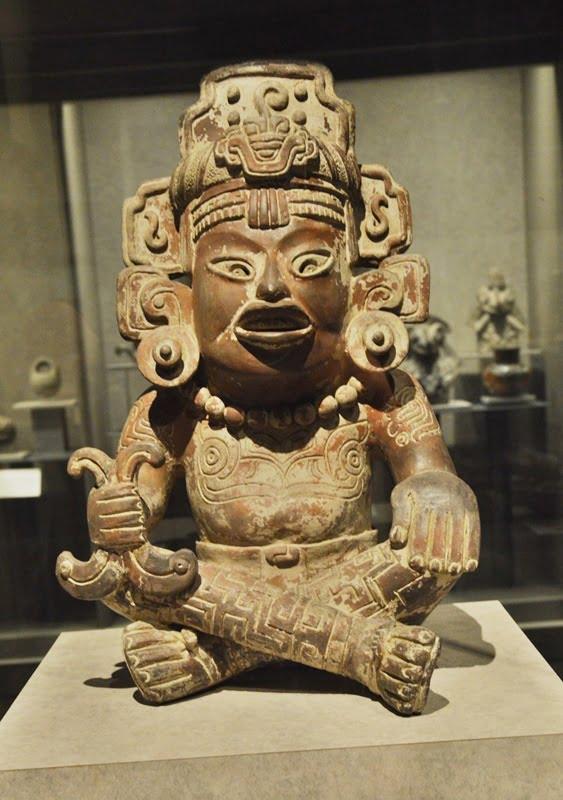 Музейный экспонат в Мехико