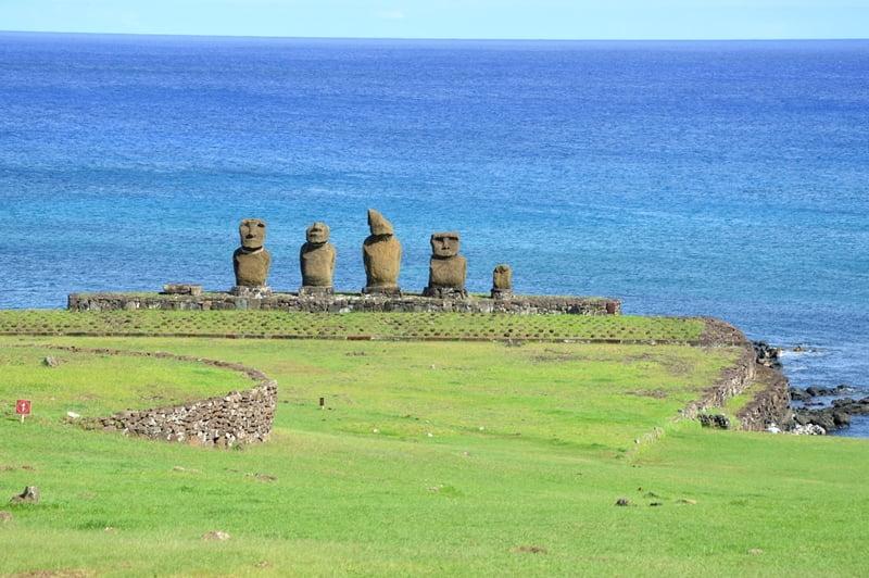 Ahu Vai Uri остров Пасхи