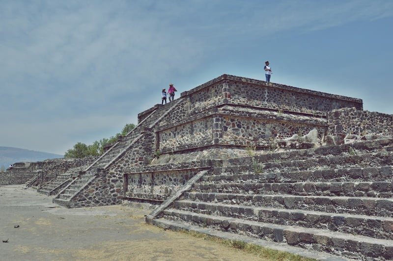 Пирамиды в Теотиуакан