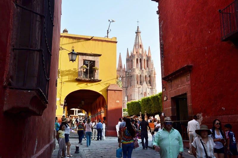 Старый город Сан Мигель де Альенде
