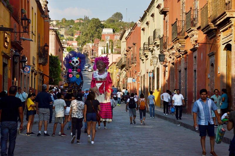 Сан Мигель дель Альенде - праздник
