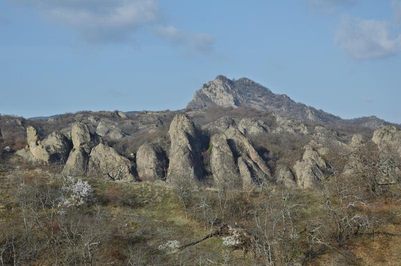 горный хребет — треккинг в грузии