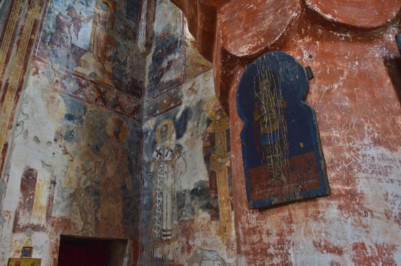 фрески Георгиевский собор Гелати