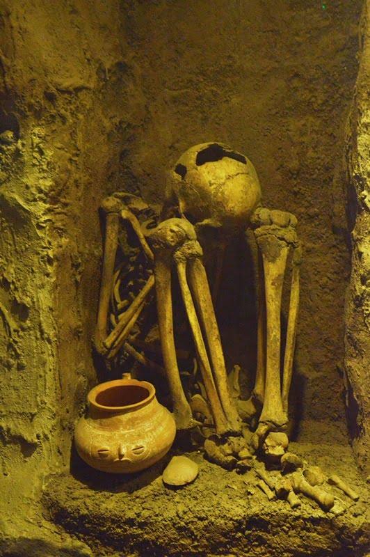 Захоронение майя