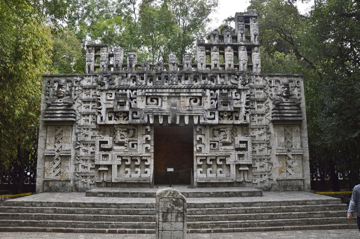 Постройка майя Мексика