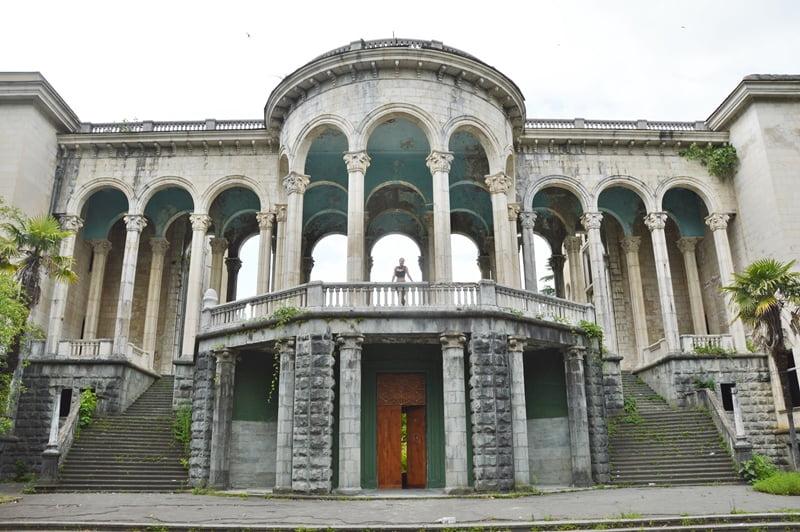 санаторий в Цхалтубо