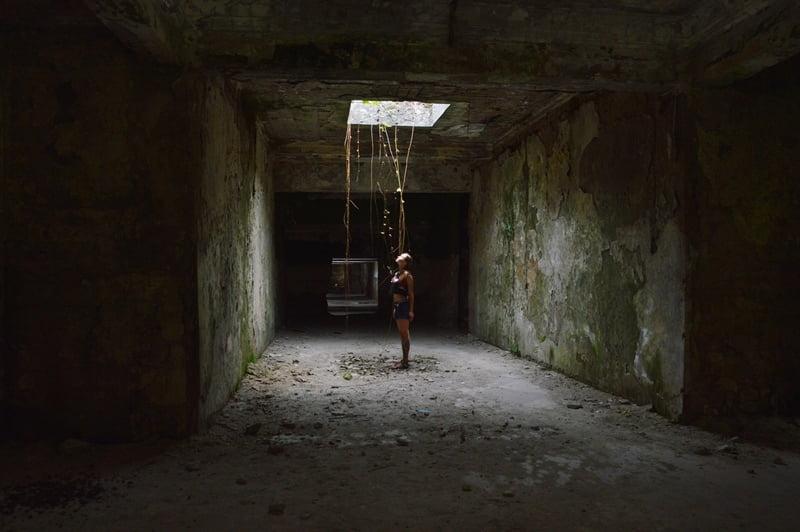 Цхалтубо руины санаториев