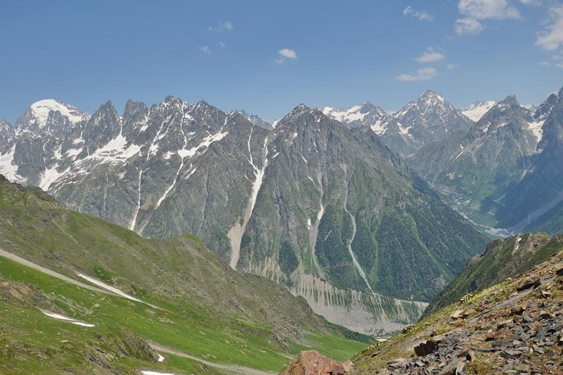 Горы в Грузии