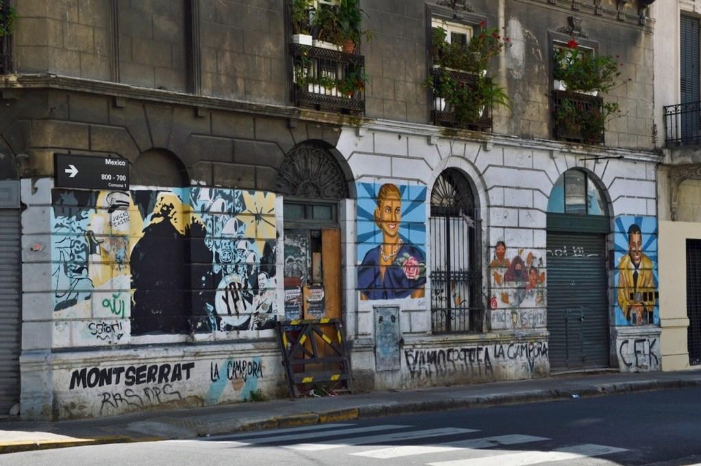 Граффити Эвы Перон — Буэнос Айрес