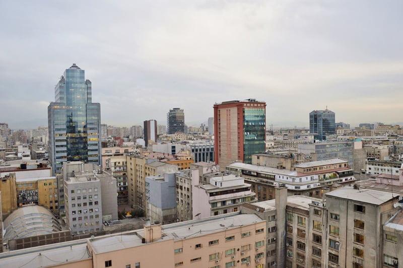 район Bellavista в Сантьяго де Чили