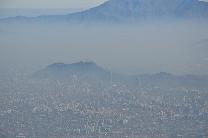 Грязный смог над столицей