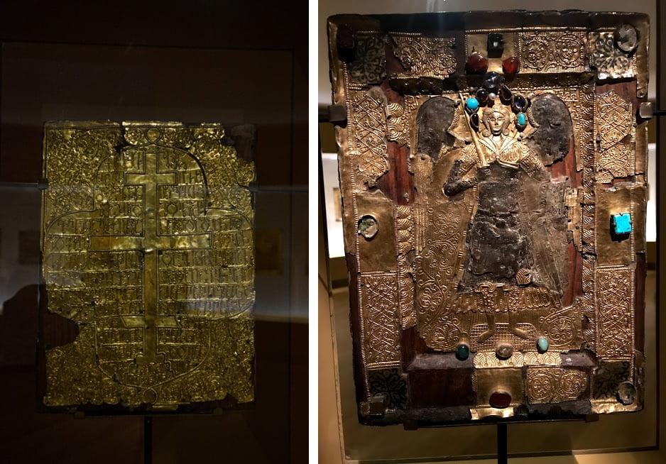 Иконы, украшенные золотом