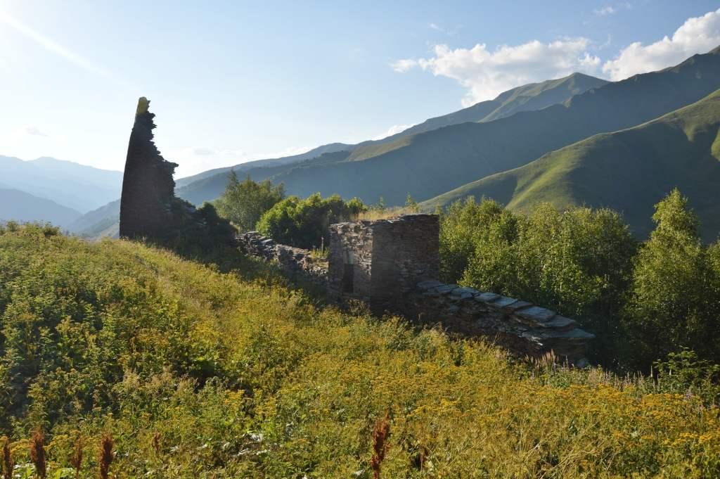 развалины замка Чажаши